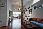 The living room / El salón