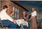 1980_Sommerfest im Schrebergarten