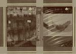 """Aus dem Projekt """"Russisch Brot"""" (zu Gogol), 2000, Box aus Pappe & Digitaldruck, Trockenes Brot, Größe variabel"""