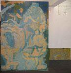 """Hirtin. Pastorale"", 1990, Öl auf Leinwand, (4 units): 300x300 cm"