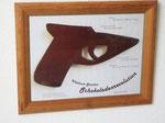 "Plakat zum Projekt ""Schokoladenrevolution"", 2006"