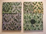"""""""Musterbilder"""", 2001, Öl auf Leinwand, 60x80 cm"""