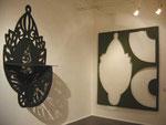 """Blicke in die Ausstellung """"Comfort"""", 2005, Krokin Galerie Moskau"""