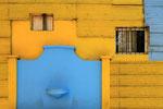 """Uta Prautzsch - """"Gelbe Wand mit blauem Tor"""""""