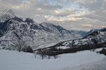 uitzicht vanuit Eischoll naar het Rhonedal