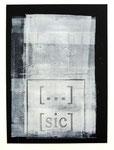 Ohne Titel, Monotypie und Linoldruck auf Papier, 29,7 x 21,0 cm, 2013