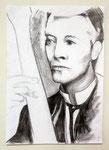 David Bowie, Kohle auf Papier (2009)
