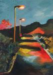Meenz 4, 2014, Acryl auf Leinwand, 140 x 100 cm