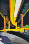 Meenz 1, 2014, Acryl auf Leinwand, 120 x 80 cm
