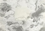 Clouds 4, 2009, graphit pen on paper, 42 x 59,4cm