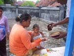 freuen sich aber die meisten Balinesen