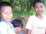 Kinder am Wegesrand