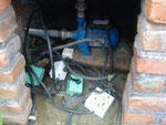 ganz normale elektrische Installation - seien Sie auf Bali immer vorsichtig mit Strom!