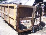 Müll ist auf Bali immer ein Problem - hier gibt es wenigstens einen Container