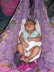 Textile Babywiege
