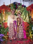 ein balinesisches Hochzeitspaar