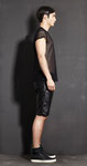 mash t-shirt € 99,- leather pants € 389,-
