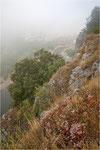 Nebel an der Ardèche, Cirque de Gens, Chauzon
