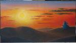 """""""Solitudine"""" Olio su tavola - 15x25 - 2012 - Collezione privata"""