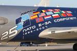 NATO Airbase Geilenkirchen - ETNG - Movement area - AWACS in special cs