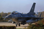 "Volkel Air Base - RLNAF F-16 J-005 ""Taxing - friendly Pilot"""