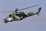 Czech Air force Air Force Mil Mi-24V 7356