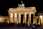 Berlin Brandenburger Tor @ night