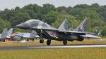 Poland Air Force Mikoyan-Gurevich MiG-29 4110