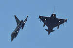 "German Air Force TaktLwG31 - Eurofighter EF 2000 - ""break two ship formation"""