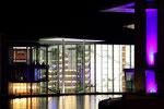 Berlin - Abgeordnetenhaus -backside @night