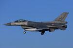 "Volkel Air Base - RLNAF F-16 J-005 ""banking"""
