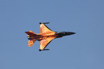 "RNLAF F-16 J-015 ""the orange lion"" special cs F-16 Demo-Team"