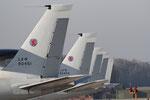 "NATO Airbase Geilenkirchen - ETNG - Movement area - AWACS ""Tails"""