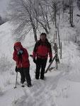 Rudolf und Margit auf den letzten finalen Metern zum Hauptgipfel des Schobersteins.