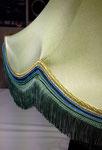 Abat jour : Réfection complète en soie