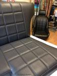 Banquette de buggy VW LM : Conception et habillage sur une base construite par le client