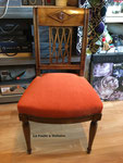 Chaise style Empire, tissu Casal Amara