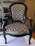 Fauteuils Louis Philippe : Tissu Prestigious Textiles
