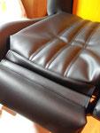 Siège sport BMW e30 : Réfection en simili cuir