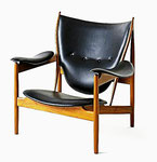 A Danish design icon. Designed by Finn Juhl in 1949, manufactured by the Danish cabinetmaker Niels Vodder