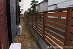 WF-026 千葉県松戸市M様 ウッドフェンス工事