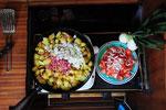 Diesmal Bratkartoffeln mit Tunö- Kartofler