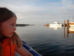 Schlauchbootfahren mit Axel