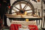 """Modell der königlichen Yacht """"Danebrog"""""""