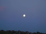 Mond über Fynshav - Foto: Chiara