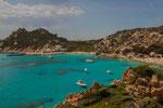 Bucht im La Maddalena-Archipel