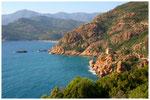 Küste bei Porto Korsika