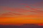 Sonnenuntergang bei Populonia Toskana