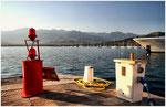 Hafen von Calvi Korsika