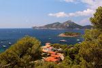 Blick auf Isla Dragonera